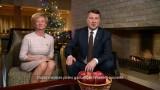 VIDEO: Valsts prezidenta Raimonda Vējoņa un kundzes Ivetas uzruna gadumijā!