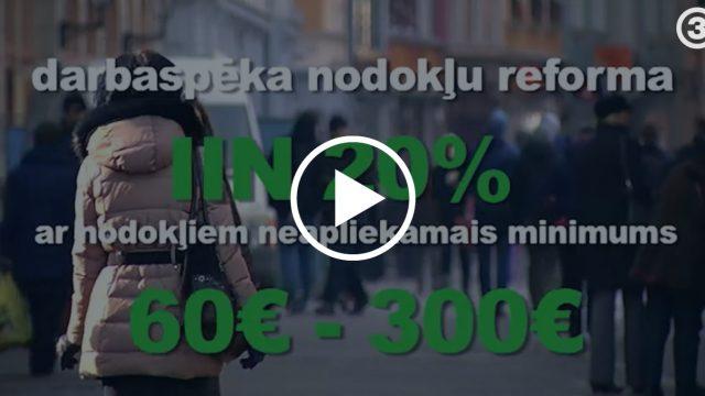"""VIDEO: Latvijā plāno ieviest """"gadsimta"""" NODOKĻU REFORMU! Plānotas grandiozas izmaiņas."""