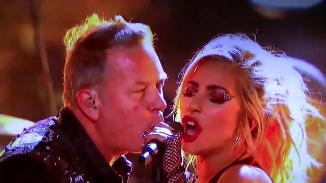 """VIDEO: Iespaidīgā Lady Gaga un """"Metallica"""" uzstāšanās """"Grammy"""" balvu ceremonijā!"""