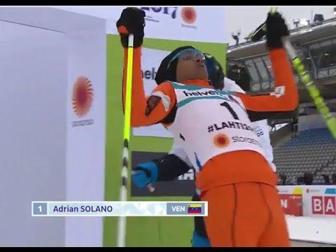 VIDEO: Iespējams, sliktākais pasaules čempionāta slēpotājs, tomēr viņa neatlaidība priecē!