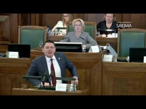 VIDEO: Kāpēc Artusam Kaimiņam runājot Saeimā no tribīnes atkal atslēdz mikrofonu!?
