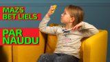 VIDEO: Līdz asarām! Ko bērni domā par naudu, bankām un miljoniem?