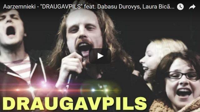 """VIDEO: PIRMATSKAŅOJUMS! Grupa """"Aarzemnieki"""" laiž klajā savu jaunāko dziesmu – himnu """"Daugavpils""""!"""