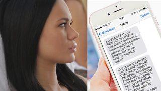 """14+ Necenzēts! Kāda ļoti """"draudzīga"""" SMS sarakste starp divām latviešu dāmām!"""