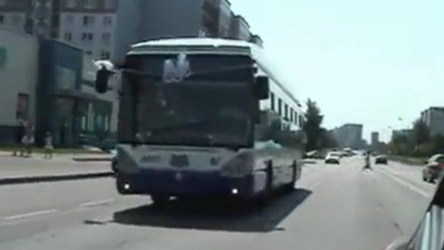 VIDEO: Izrādās, ka Rīgas satiksmes trolejbusu var noīrēt… KĀZU svinībām!