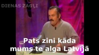 VIDEO: 18+ Necenzēts! Īsumā par algām Latvijā…
