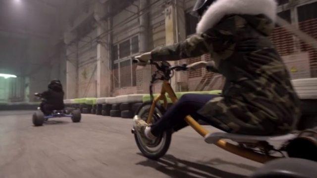 """VIDEO: Iespaidīgi drifta video no """"Wolftrike"""" halles Pārdaugavā!"""