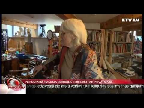 VIDEO: Māksliniece Skulme spiesta pārdot ģimenes relikvijas, lai samaksātu MILZĪGO NĪ nodokli…