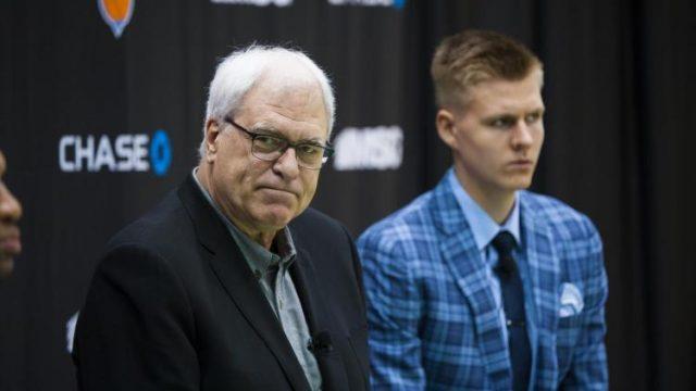 """Skandāls Ņujorkā! Kristaps Porziņģis neierodas uz tikšanos ar """"Knicks"""" prezidentu Filu Džeksonu!"""