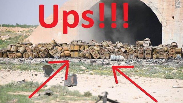FOTO: Krievijas propagandisti iegāž Asadu, paši netīšām publicējot foto ar ķīmisko vielu konteineriem!