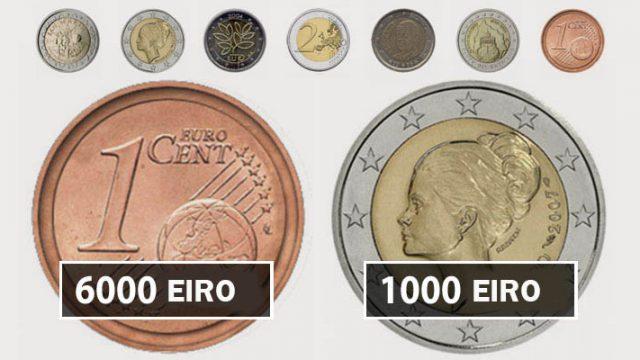 Pārbaudiet savu sīknaudu! Iespējams šīs eiro monētas Jūs var padarīt bagātu!