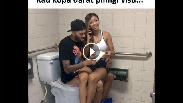 VIDEO: Kad pāris kopā dara pilnīgu visu…