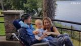 VIDEO: Eksluzīvi! Ūdrīša un viņa sievas dzīve pēc smagās avārijas. Ieskats abu ikdienā!