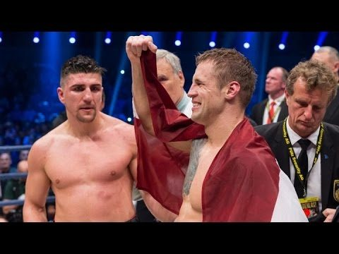 """VIDEO: Noskaties! Labākie momenti no cīņas, kurā Mairis Briedis """"samasē"""" Marko Huku!"""