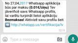 """Uzmanies – """"WhatsApp"""" aplikācijā tiek izplatīts vīruss! Neuzķeries!"""
