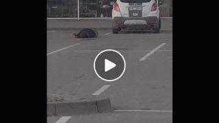 Aculiecinieka VIDEO: Kāda Bauskas policista rīcība ŠOKĒ visu Latviju!