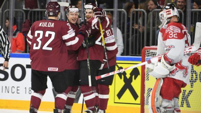 VIDEO:  Labākie momenti! Latvijai pirmā UZVARA pār Dāniju šajā hokeja čempionātā!