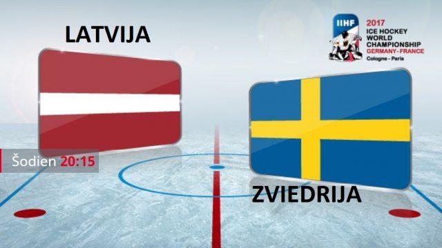 VIDEO TIEŠRAIDE: Spēle, kas jāredz! Latvija : Zviedrija! Sākums plkst 21:15!