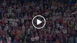 VIDEO: Saviļņojoši un iespaidīgi! 4000 Latvijas hokeja fani pēc uzvaras Ķelnē dzied himnu!