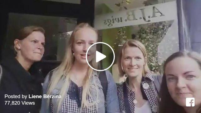 VIDEO: Vienreizējs latviešu meiteņu pārsteigums – visas četras meitas pārsteidz mammu Anglijā!