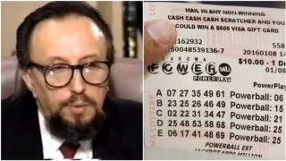 VIDEO: Šis vīrietis ir vinnējis loterijā lielo laimestu 14 (!) reizes! Lūk, viņa panākumu noslēpums!