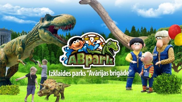 """VIDEO: Super! Ieskaties jaunajā Latvijā lielākajā izklaides parka """"Avārijas brigāde""""!"""