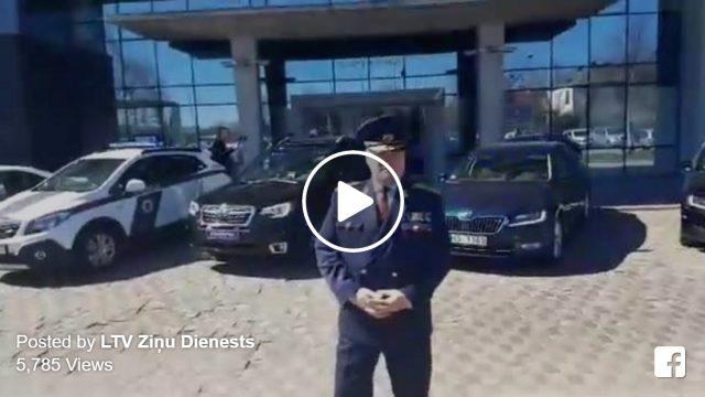 VIDEO: EKSKLUZĪVI! Dodamies izbraukumā ar jaunajiem netrafarētajiem ceļu policijas auto!