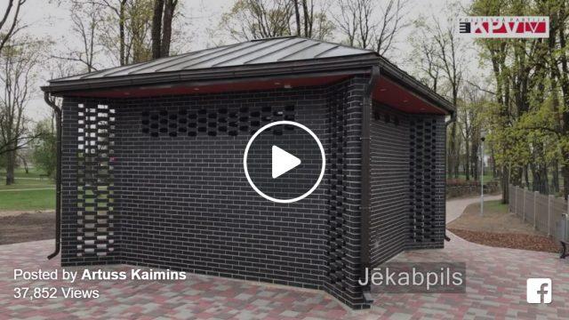 VIDEO: Jēkabpilī var apskatīt PASAULĒ DĀRGĀKO tualeti! Tā izmaksāja 8000 EUR/m2!