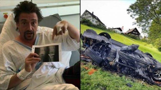 VIDEO: Ričards Hamonds piedzīvo smagu avāriju un dalās ar video no slimnīcas!
