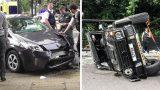 """VIDEO: Toyota Prius """"iznīcina"""" 340 000 eiro vērto Mercedes Brabus G500!"""