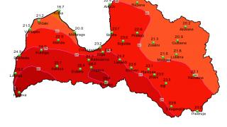Sinoptiķi atklāj, kad Latvijā atgriezīsies karstums!