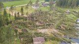 VIDEO/FOTO: Siguldas novadā šodien pēc negaisa dramatiski skati – izpostītas mājas un nogāzti koki!