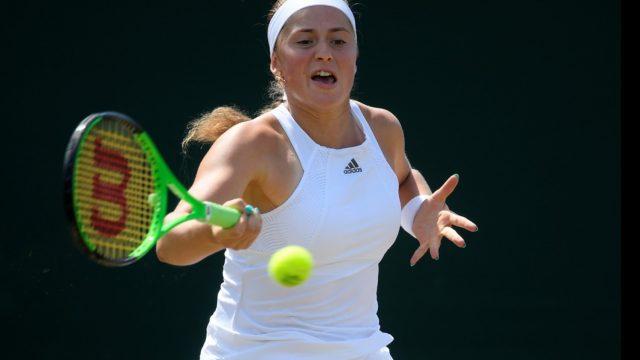 UZVARA! Ostapenko liek panervozēt un iekļūst Vimbldonas tenisa čempionāta ceturtdaļfinālā!