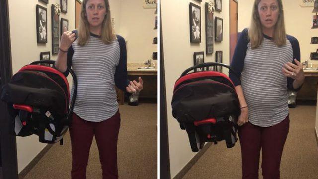 VIDEO: Visticamāk tu to visu laiku esi darījis nepareizi! Lūk, kā pārnēsāt bērna auto sēdeklīti daudz ērtāk!