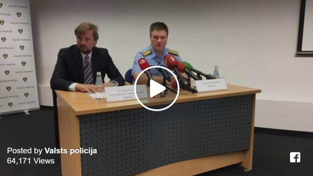 VIDEO: Valsts policijas preses brīfingā informē par Ivana Berladina lietas izmeklēšanas gaitu!