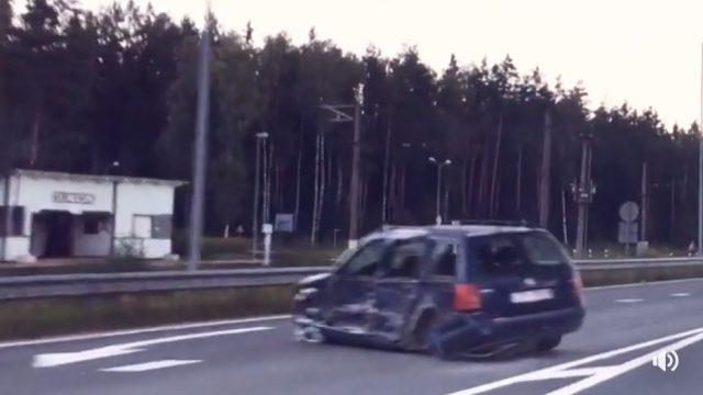 """VIDEO: Raidījums """"Zebra"""" par vienu no nāvīgākajiem kreisajiem pagriezieniem Latvijā!"""