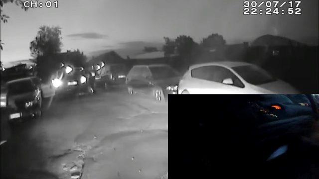 VIDEO: Policija Pļavniekos ķer dzērājšoferi! Policists izlec no auto, lai apturētu bēgli!