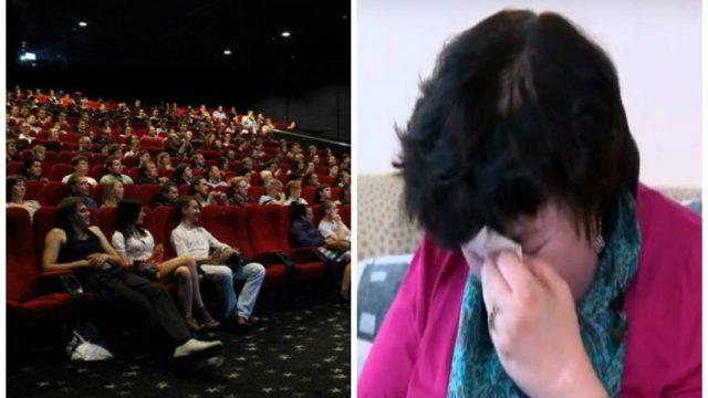 """Sieviete ratiņkrēslā kinoteātrī Rīgā piedzīvo pazemojumu: """"Visu filmas laiku raudāju, jo bija kauns!"""""""