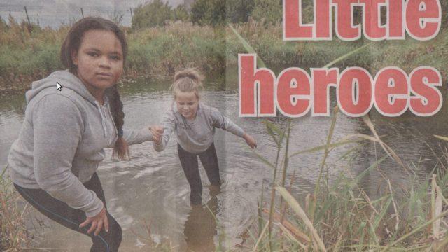 Varonīga latviešu meitenīte Krista Īrijā izglābj maza zēna dzīvību!