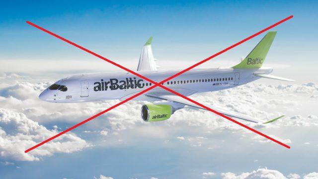 Negaidīti! airBaltic apturējusi visu jauno Bombardier lidmašīnu lidojumus!