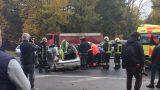 VIDEO / FOTO: Smaga avārija pie Rumbulas ar cietušajiem!
