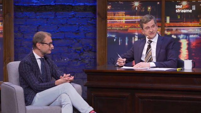 """VIDEO: Pusnakts šovā septiņos viesojas """"Gribi būt miljonārs"""" ex-vadītājs Mārtiņš Kibilds!"""