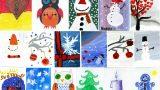 Ieskaties! Palīdzi SOS ciemata bērniem, izvēloties Ziemassvētkos viņu veidotas kartiņas!
