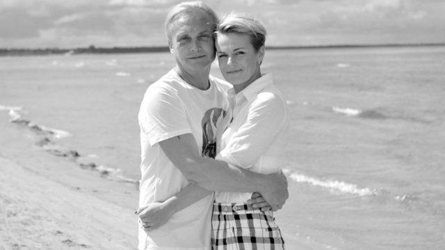 Elīna Maligina publicējusi emocionālu atvadu vēstuli mūžībā aizgājušajam vīram Valērijam!