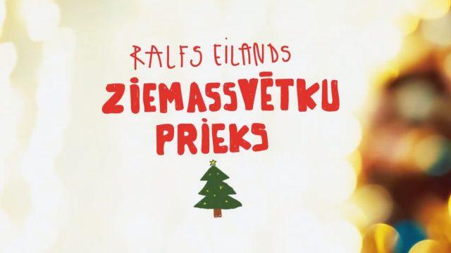 """VIDEO: Noklausies! Ralfs Eilands iedziedājis sirsnīgu dziesmiņu """"Ziemassvētku Prieks""""!"""
