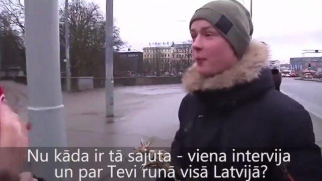 """VIDEO: Edža saņemot balvu: """"Apnicis braukt ar autobusu. Mans sapnis ir palidot ar """"behu""""""""!"""
