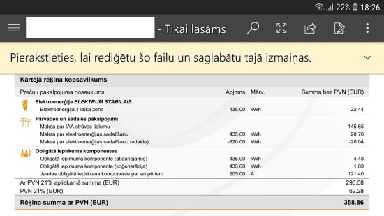 FOTO: Ārprāts! Jānis elektrību notērē par 22 eiro, bet jāmaksā… 358 eiro!!!