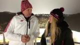 VIDEO: Vējoņa intervija angļu valodā olimpiādē cilvēkus gan šokē, gan uzjautrina!