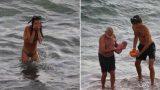 FOTO: Krieviete pārsteidza ēģiptiešus, dzemdējot bērnu Sarkanajā jūrā!