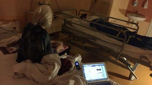 Vecvecākiem, kuri uzņēmušies rūpes par smagi slimo mazmeitu, nepieciešama mūsu palīdzība!